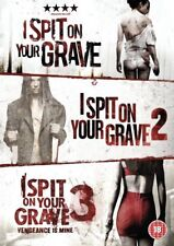 I Spit On Your Grave 1 2 3 Triple Collection Region 2  DVD New (3 Discs) Trilogy