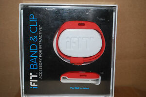 iFIT Active Accessory Band and Clip Set Only  Assorted Colors  New in Box  S6480