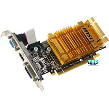 NEW MSI R4550 MD1GH R4550-MD1GH 1GB PCI Express 2.0 x16 2560 x 1600 600 MHz