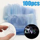 100Pcs Anti-oxidation Resealable Plastic Bag Clear Zip Lock Jewelry Storage Bags