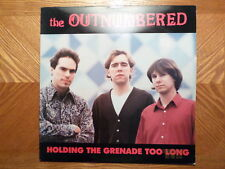 HOMESTEAD LP RECORD /OUTNUMBERED/HOLDING THE GRENADE TOO LONG/ GARAGE 1986/EX