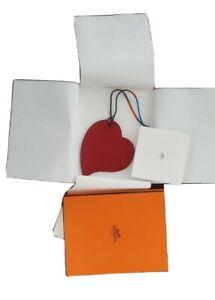 Hermes Heart charm