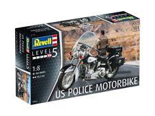 Revell 07915 - 1/8 US Police Bike - Neu