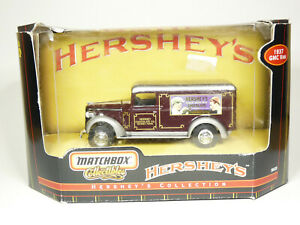 Matchbox 96439 1/43 1937 GMC Panel Van Hershey's Truck Diecast Model Car