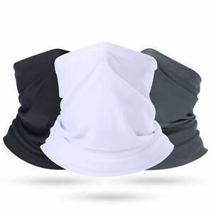 Cooling Neck Gaiter UV Protection Face Mask Scarf Breathable Bandana Balaclava