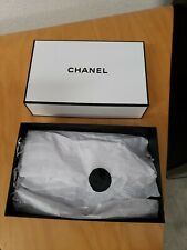 Authentic Chanel Empty White Gift Storage Box 9� X 6� X 3 with Tissue