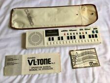 Vintage Casio VL-Tone VL-tone  VL 1 Electronic Keyboard Synthesizer W/ Soft Case