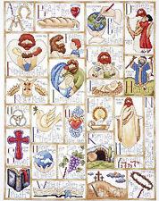 Cross Stitch Kit ~ Design Works Inspirational ABC Religious Sampler #DW2432
