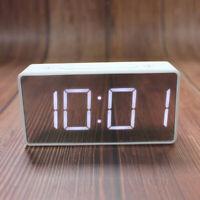 Large Screen Alarm Clock Timer Time Temperature LED Big Digital Display Clocks