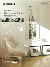 Yamaha catalogue prospectus 2002/dpx-1000 dsp-az1 ax-892 ax-596 kx-592 cdx-596