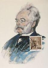 """BRD MK 1992 """"  Werner von Siemens """"  MAXIMUMKARTE Nr. 61 / 92"""