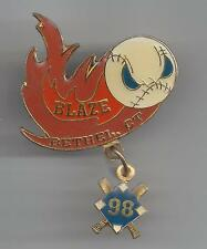 Blaze 1998 Bethel, Ct. 2 inch Softball Pin