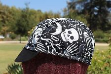 CYCLING CAP LA MANO GLOW IN THE DARK 100% COTTON HANDMADE