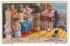 Jupiter On Mount Olympus Jove Mythology Rome 80+ Y/O Trade Ad Card