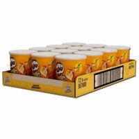 12 x Pringles Paprika Flavor Potato Chips Small Cans 70g 2.5oz