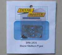 HURST SHIFTERS 9 PCS 1:24 1:25 DETAIL MASTER CAR MODEL ACCESSORY 2531
