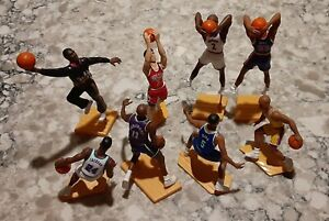 KENNER STARLING LINEUP NBA Basketball Action Figure Loose LOT of 8