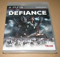 Defiance (Sony PlayStation 3) Brand New / Fast Shipping