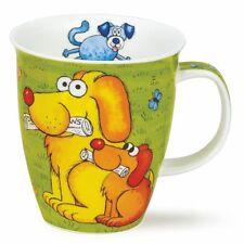Dunoon Coupes tasse à thé Dogs'n Puppies vert Chiens 0,4 l tasse café Nevis