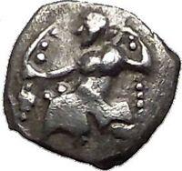 LARANDA in LYCAONIA 324BC Baaltars Wolf Genuine Ancient Silver Greek Coin i55614