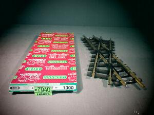LGB 1300 Crossing Brass 30 Degree LN G Scale With Original Box Train Track Rails