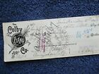 1893 Colby Piano C.C. Colby & H.G. Perry signed Erie,Pa.,Canajoharie,N.Y. Check!