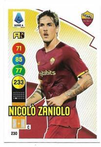 PANINI ADRENALYN XL CALCIATORI 2021-2022 CARD N. 230 ZANIOLO (ROMA)