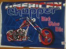 American Chopper Black Widow Bike Fabric by Springs Creative btp