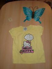 ** KA Tshirt mit Hello Kitty-Motiv - Gr. 110 **