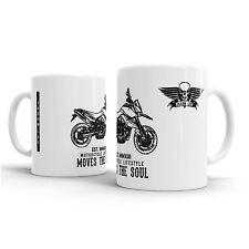 JL KTM 990 Supermoto inspired Motorcycle Art – Gift Mug