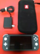 NINTENDO SWITCH CONSOLE WITH CASE MODEL HDH-001 GREY CLEAN SCREEN SUPER UNIT