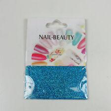 *** (0,68€/1g) 1,5 g Glitter Glitzer Nailglitter - Blau Meeresblau - für Nailart