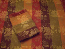 THANKSGIVING TABLECLOTH & 8 MATCHING NAPKINS~BEAUTIFUL~USED ONCE~KOHLS