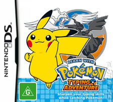 Learn with Pokemon Typing Adventure Nintendo DS Game NEW