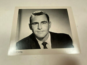 Vintage 1970s 8 x 10 Photo Stat of Rod Serling the Creator of The Twilight Zone
