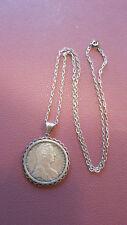Münze mit Kette Österreich Maria Theresia Taler 1780 Silber
