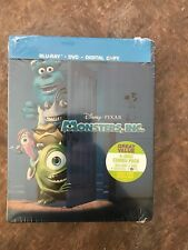 MONSTERS INC BLU RAY + DVD  Blu Ray Steelbook: RARE STEELBOOK BRAND NEW