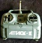 Vintage Classic RC Futaba - Attack II transmitter Remote w/ Manual-used