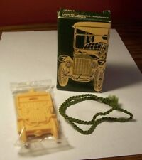 AVON Model T Car Freshener - With Box & Rope - Never Used (unopened packaging)