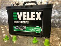 EVELEX  12V 90AH HD ULTRA DEEP CYCLE EXTRA LONG LIFE LEISURE BATTERY