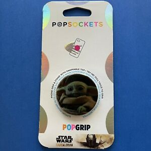 Star Wars Popsockets Popgrip—The Child Watches (Yoda)—Cell Phone Holder & Stand