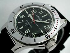 RUSSIAN  VOSTOK AUTO AMPHIBIAN WATCH  FOR DIVING #12647 NEW