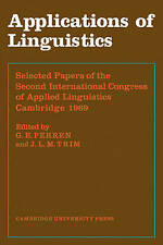 Applications of Linguistics by Perren, G