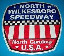 "North Wilkesboro Speedway Raised Letter Metal 12"" Man Cave Garage Sign New"