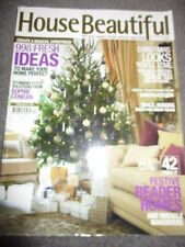 House Beautiful Magazine Dec 2009 Jan 2010 Christmas special