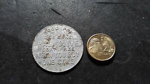 Australian  token old see photos Palmolive soap