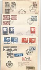 Sweden- 36 Fdcs- all different ( 1960s-1980s)
