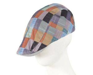 Unique patchwork flat cap Hats From OZ - 100% Australian Owned Seller