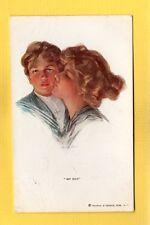 artist signed Philip Boileau,MY BOY  Reinthal & Newman #298 used 1913