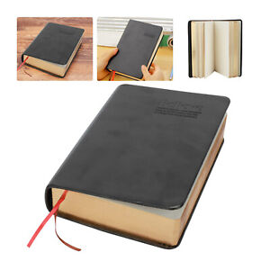 Thick Paper Notebook Notepad Leather Journal Bible Diary Book Sketchbook